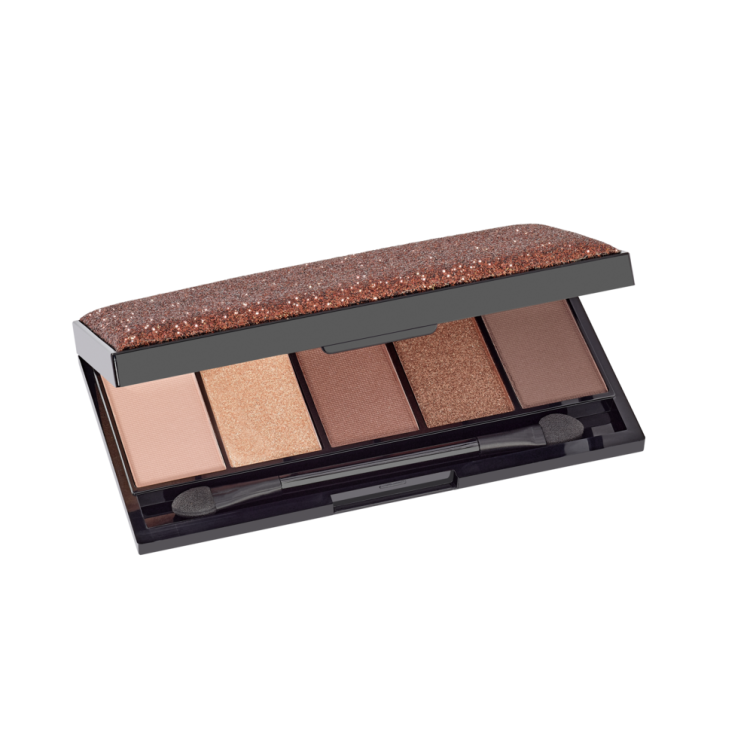 Paleta cieni - Luxury Eye Shadow Palette Golden Coffee
